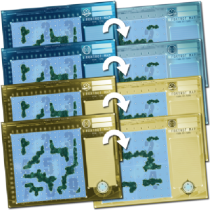Captain Sonar : Foxtrot Maps